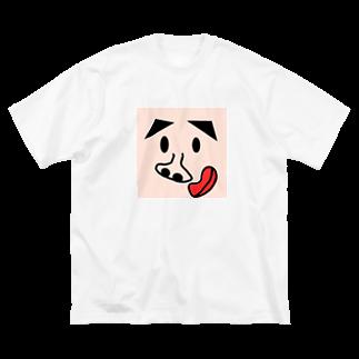 taroyanのぴーちゃん Big silhouette T-shirts
