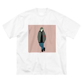kyo_no_yosooi Big silhouette T-shirts