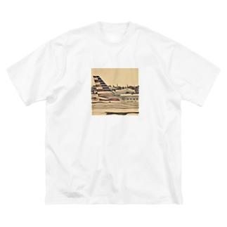 America Big silhouette T-shirts