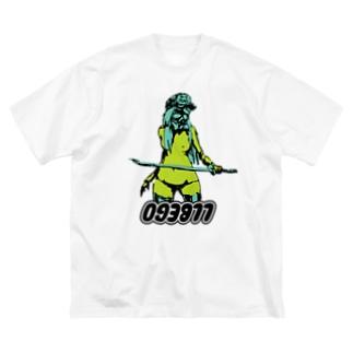 刀マスク Big silhouette T-shirts