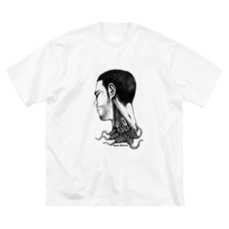 "Dark blancoのDark blanco ""Monster 20"" Big silhouette T-shirts"