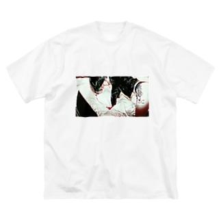 BSS-亜きら Big silhouette T-shirts
