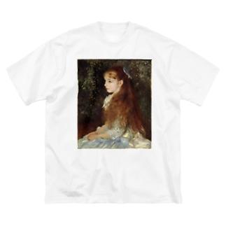 イレーヌ・カーン・ダンヴェール嬢 / ピエール=オーギュスト・ルノワール Big silhouette T-shirts