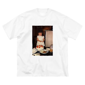 幼少ね Big silhouette T-shirts