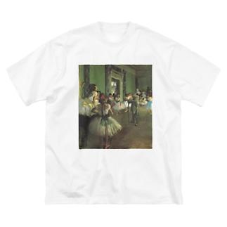 ダンス教室 / エドガー・ドガ Big silhouette T-shirts