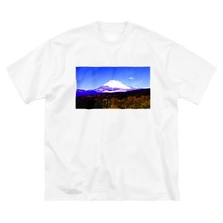 ビビットフジ Big silhouette T-shirts
