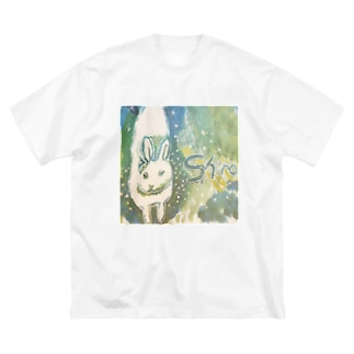 shiro Big silhouette T-shirts