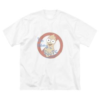 アレルギー!!! Big silhouette T-shirts