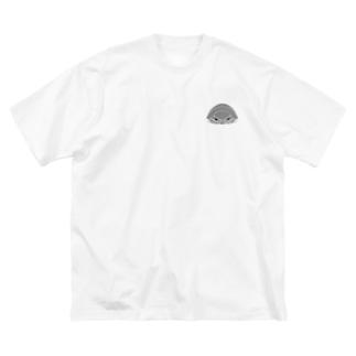 ダイオウグソクムシ Big silhouette T-shirts