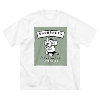 sugarmero_elephant03 Big silhouette T-shirts