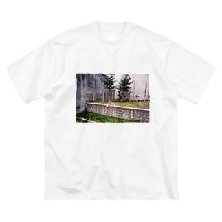 虎を胸に飼おうじゃないか Big silhouette T-shirts