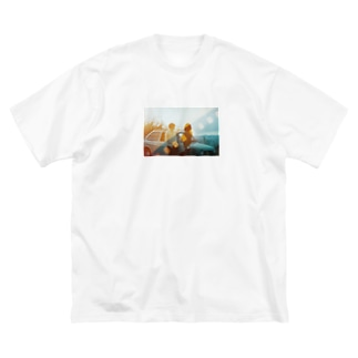 Cloudy Big silhouette T-shirts