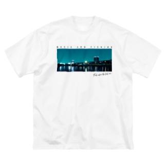 Fishing Spot T shirts Seabass Big silhouette T-shirts