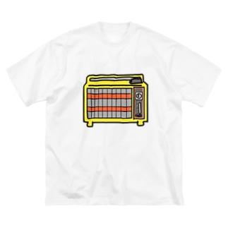 レトロ家電 Big silhouette T-shirts