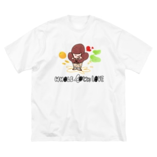 WHOLE LOTTE LOVE Big T-shirts