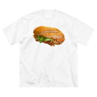 いちばんうまいバインミー Big silhouette T-shirts
