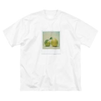 ポラロイド かりん Big silhouette T-shirts