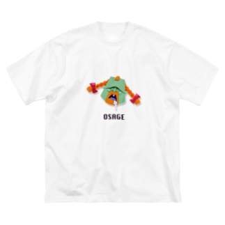 おさげボーイ Big silhouette T-shirts