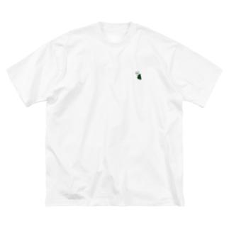 よすけ Big silhouette T-shirts