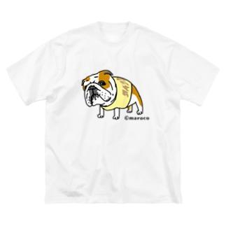 銀次郎 Big silhouette T-shirts