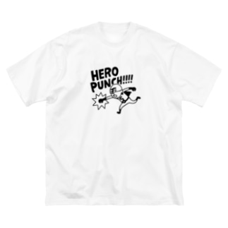 HERO PUNCH 01 Big silhouette T-shirts