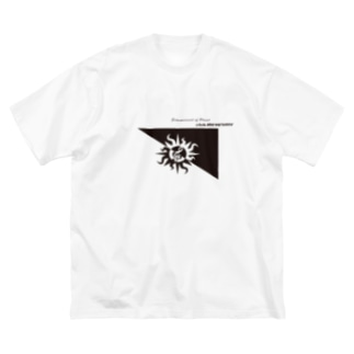 official square Big silhouette T-shirts