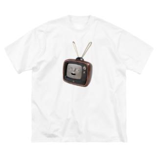 ハナタレビジョン小さめ Big Silhouette T-Shirt