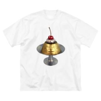 プリン・ア・ラ・ドーモ Big silhouette T-shirts