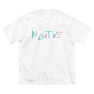 NGTV(デジタルリマスター版)濃色ボディ Big silhouette T-shirts