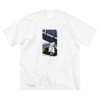 summer pillow Big silhouette T-shirts
