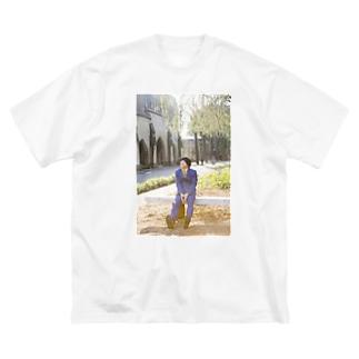 サツマカワRPG陽気ポカポカ Big silhouette T-shirts