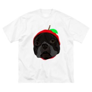 APPLE-LUKE Big silhouette T-shirts