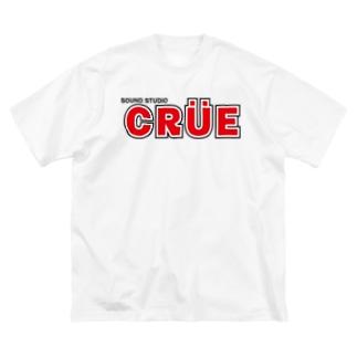 【色、サイズ選択可!】CRUEのBigロゴT Big silhouette T-shirts