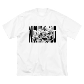 Search & Destroy ビッグTシャツ Big silhouette T-shirts
