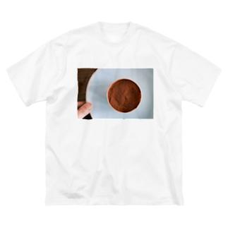 アフタヌーン・ティラミス Big silhouette T-shirts