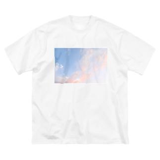 夕焼けの想い出その4 Big silhouette T-shirts