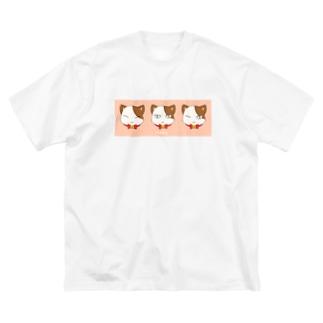 neko Big silhouette T-shirts
