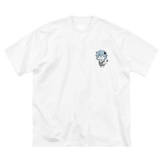213号室のダリル君 Big silhouette T-shirts