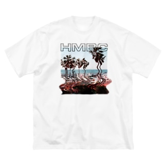 Be Built, Then Lost - WHITE BIG Big silhouette T-shirts