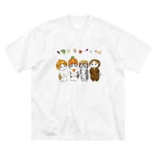今日はカレーの日 Big silhouette T-shirts