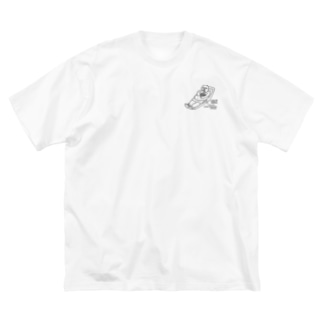 Sapporo LIVE HOUSE Charity(LIVE AT NORTH×永盛文生) Big silhouette T-shirts