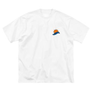 ALOHA BIGシルエットTシャツ Big silhouette T-shirts
