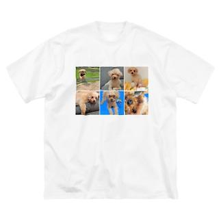ノエルズライフ Big silhouette T-shirts