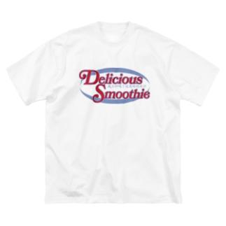 スムージー楕円-冰沙 Big T-shirts