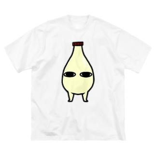 マヨ Big silhouette T-shirts