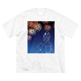 夏 Big silhouette T-shirts