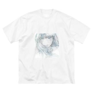 かもんぬちゃん Big silhouette T-shirts
