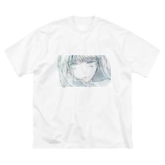 よこながかもんぬちゃん Big silhouette T-shirts