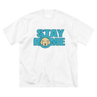 ステイホーム Big Silhouette T-Shirt