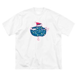 ダンス Big silhouette T-shirts